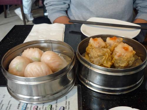 dim sum har gow siew mai prawn dumpling