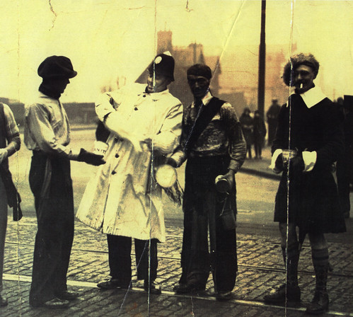 PC Robert Watt, Student Charities, Anniesland X, 1933.