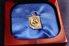 Czar Peter the Great medallion