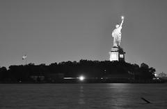 The Statue of Liberty (b_frisse) Tags: new york city nyc travel bridge sky usa ny newyork statue skyline architecture brooklyn america liberty nikon unitedstates manhattan united atlantic brooklynbridge grandcentralstation empirestatebuilding states statueofliberty chryslerbuilding littleitaly radiocity staaten d5000