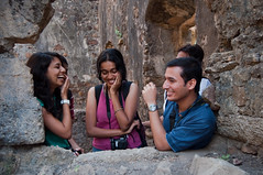 A Light Moment (Dev Designs) Tags: india trek candid adventure mumbai mws photgraphers vasaifort