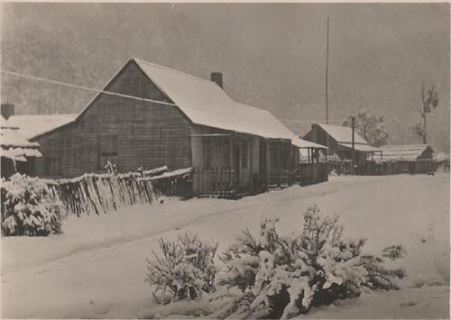 Talbotville under snow