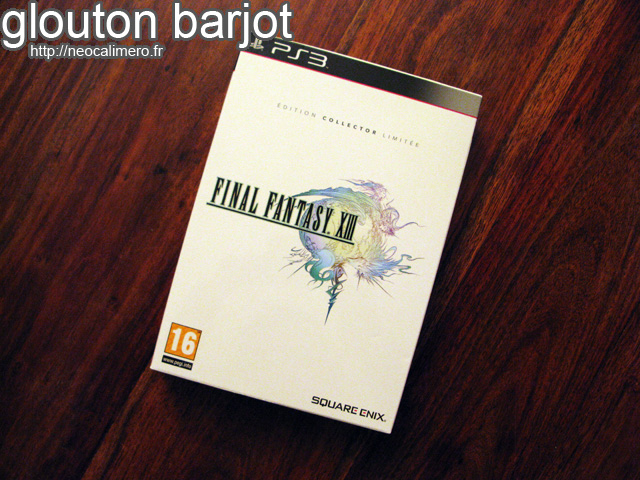 Final Fantasy XIII Collector