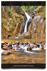 Chilling Waterfall (AnNamir™ c[_]) Tags: nature canon kitlens chilling malaysia handheld hdr sanctuary outing 500d kualakubu tonemapped singleraw kkb flickraward ikankelah luarbiasa annamir getokubicom klno