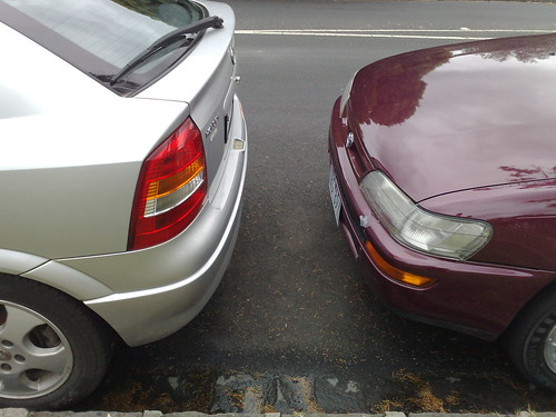 Parking too close