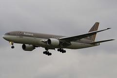 HL7700 - 30859 - Asiana Airlines - Boeing 777-28EER - Heathrow - 080318 - Steven Gray - IMG_1071