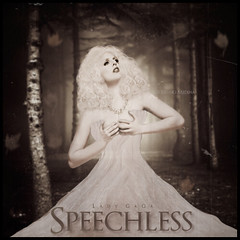 Lady Gaga - Speechless . ( Bruno Medina) Tags: photoshop  medina bruno desenho gaga blend speechless tfm reconstruo