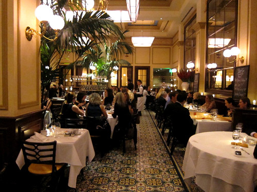 Bouchon's dining room
