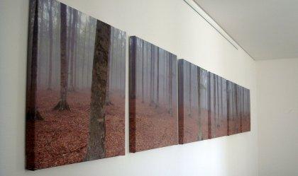 Panorama-Kunstwerk