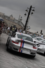 Porsche 911 Turbo (Toni113) Tags: barcelona auto blue red cars car canon eos grey stripes 911 automotive turbo porsche experience 1750 28 tt autos tamron sitges 2009 supercar supercars 997 6to6 sixtosix 40d six2six