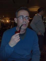 Dr Pettitt, I presume (adele.turner) Tags: pipe oldman smoking smoker pipesmoker jeremypettitt