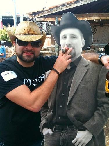 I'm a bad influence #cowboyted cc @tdefren #allhat2