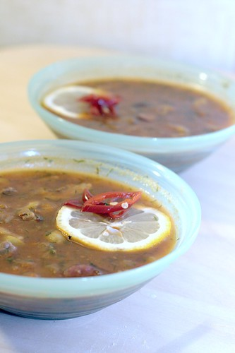 Грузинская солянка – кулинарный рецепт