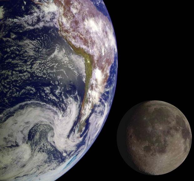 Fotos increibles de la Tierra y la Luna
