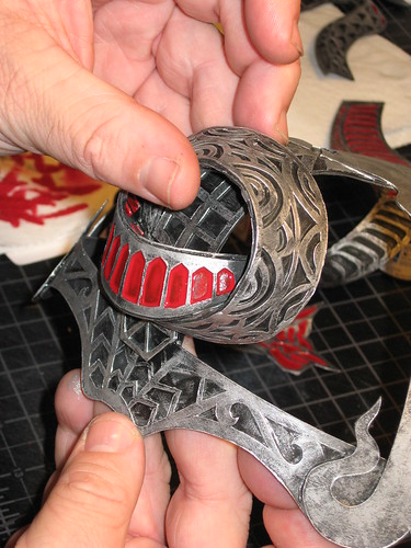 mask in progress - 6