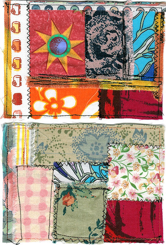 Fabric Postcards (Photo by iHanna - Hanna Andersson)
