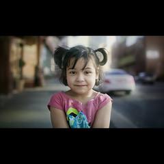 A young stranger, montreal (Benoit.P) Tags: street city pink portrait canada color art girl university mood dof montral benoit little quebec bokeh montreal stranger concordia paille troisrivires benoitp