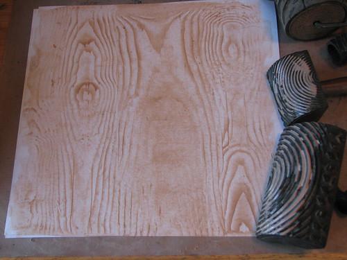 faux wood grain 007