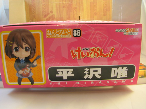 Nendoroid Yui box top