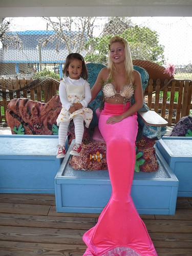 ava with pink mermaid.