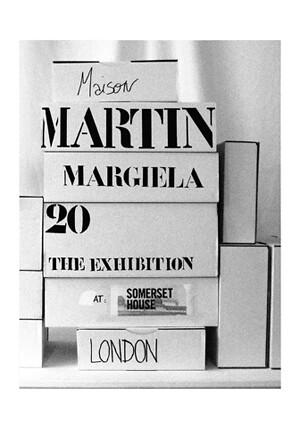Ausstellungsplakat Martin Margiela Somerset House