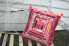 pinked pillow