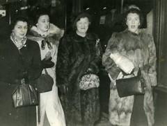 Image titled Templeton Girls, Sauchiehall Street, 1948.
