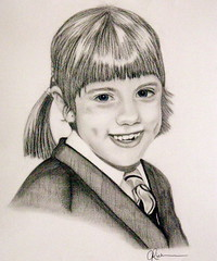 Charcoal Pencil Portrait of a young girl (Portrait from a photo) Tags: portrait blackandwhite art girl pencil portraits artwork artist child drawing drawings charcoal pastels commission graphite birthdaypresent christmaspresent realistic weddingpresent commissioned portraitartist anniversarypresent portraitofagirl portraitfromaphoto commissionaportrait christeningpresent