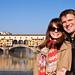 Me and Adriana at Ponte Vecchio