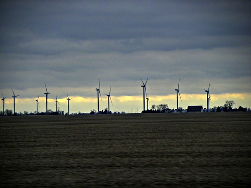 INDIANA Wind Turbine plant