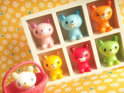 Kawaii Small Bear Collection Doll Your Dolly's Toy Rare Cute Japan (by Kawaii Japan)