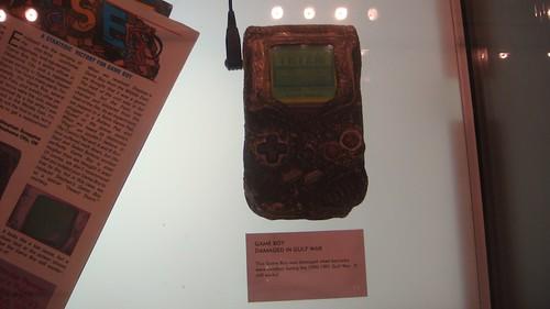 Gameboy sopravvisuto alla Guerra del Golfo