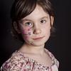 Facepaint 2 (Ian_Boys) Tags: portrait facepainting nikon 85mm poppy facepaint homestudio sb20 d700