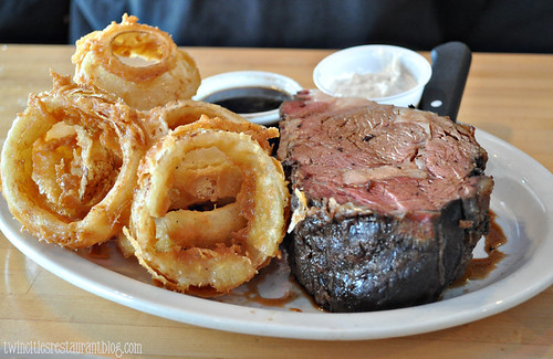 Prime Rib Sunday Special at Norman Quacks