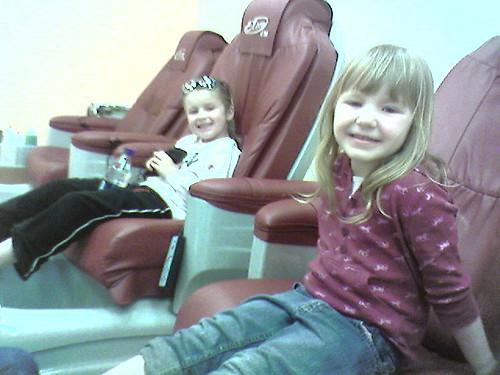 Paige and Leda