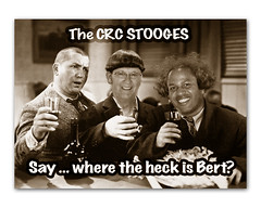 "the CRC (aka ""Three"") Stooges (gorbidog) Tags: curly larry moe 3stooges thethreestooges"