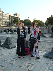 Punks should not smile as much (catjerome_now) Tags: tokyo cosplay harajuku tokyoday07