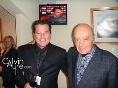 Calvin Ayre with Mohamed Al Fayed (Calvin Ayre) Tags: party london fulhamfc calvinayre mohamedalfayed bodogeurope harrodsclothing