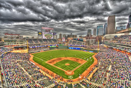 Minnesota Twins Background. Minnesota Twins, Target Field