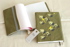 Printed Book Cover (Ama gogo) Tags: art print design pattern taiwan textile bookcover blackdrongo inblooom
