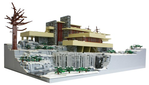 Fascinating LEGO® Model of the Day: Frank Lloyd Wright's ...