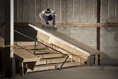 Woodville Kickflip (Dabe Alan | www.dabealan.com) Tags: ohio 6 set stair jordan toledo skatepark skate skateboard northwood woodville kickflip strobist cedoz