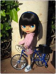 Paseando en mi nueva bici