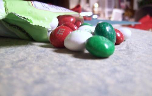 Christmas M+M's