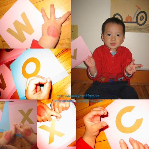 Alphabets finger play