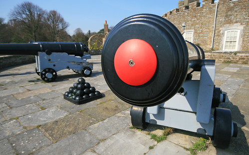 Canons; sorry, cannons