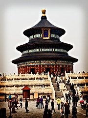[フリー画像] [人工風景] [建造物/建築物] [天壇] [世界遺産/ユネスコ] [中国風景] [北京]     [フリー素材]