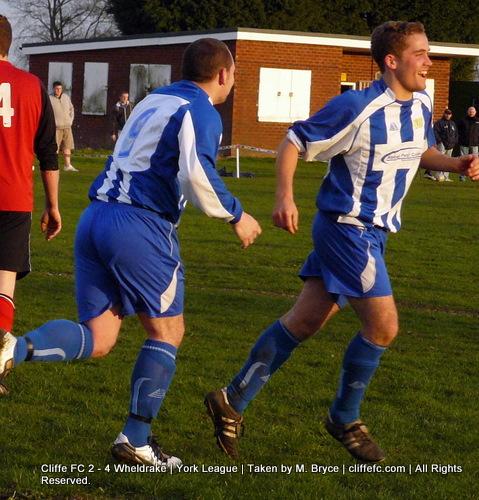 Cliffe FC vs Wheldrake 7Apr10