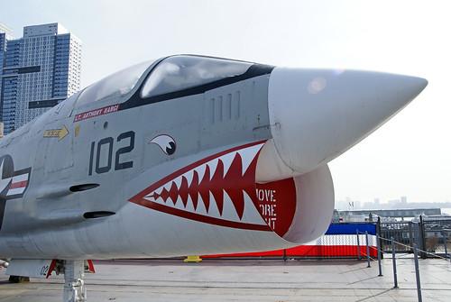 Vought F-8K Crusader.