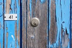 door (twicepix) Tags: door key closed schloss holz muster bunt tre textur bemalen